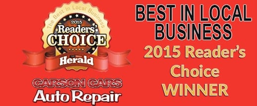 Carson Cars Voted Best In Local Business